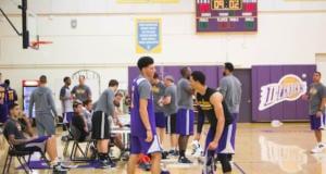 Lonzo Ball, Josh Hart Lakers Summer League