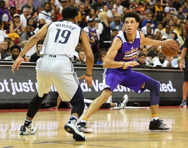 Lonzo Ball, Lakers, Summer League