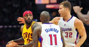 LeBron James, Jamal Crawford, Blake Griffin, Clippers, Cavs