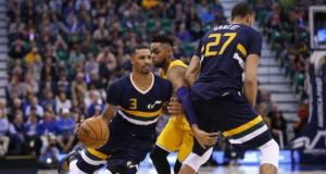 George Hill, Lakers, Jazz