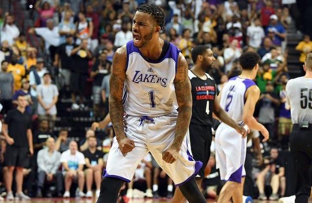 Vander Blue Lakers