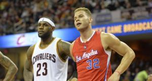 Blake Griffin LeBron James NBA