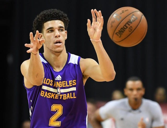 Lakers Forward Corey Brewer On Lonzo Ball: 'He Makes All ...