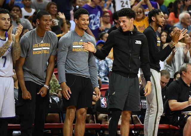Lonzo Ball Josh Hart Lakers