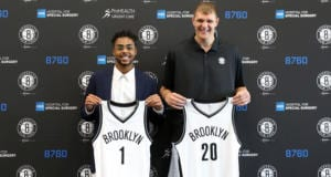 D'Angelo Russell Timofey Mozgov