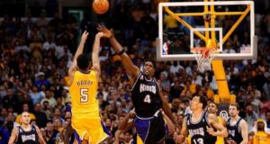 Robert Horry Chris Webber Lakers Kings