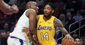 Brandon Ingram Lakers Clippers