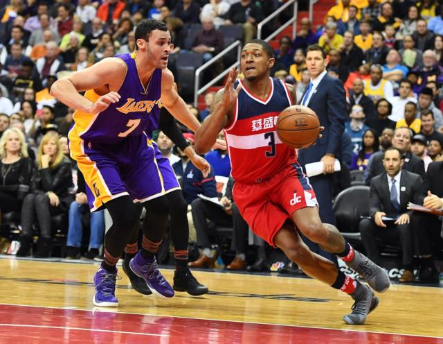 Larry Nance Jr. Bradley Beal Lakers Wizards