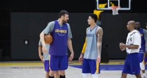 Kyle Kuzma, Andrew Bogut, Lakers