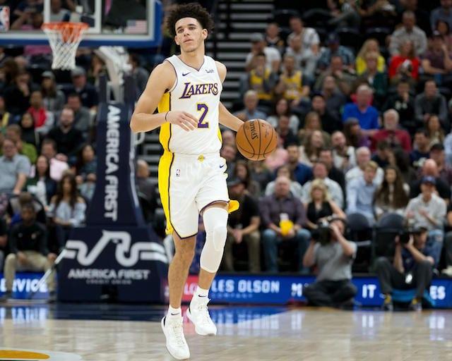 Lonzo Ball Lakers