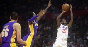 Andrew Bogut, Kentavious Caldwell-Pope Lakers Clippers
