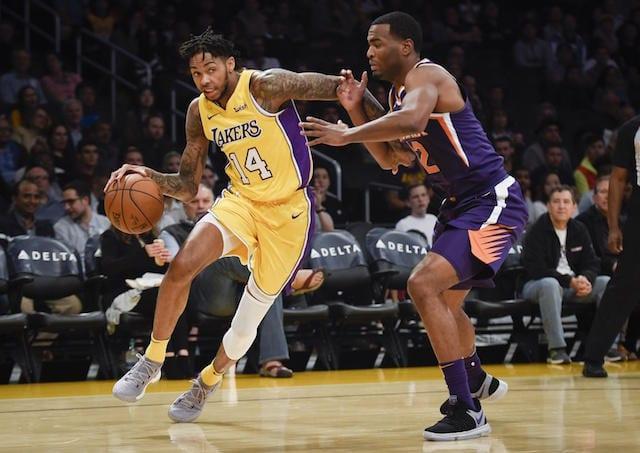 Brandon Ingram, Lakers, Suns