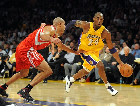 Kobe Bryant Shane Battier Lakers Rockets