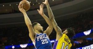 Brandon Ingram, Ben Simmons, Lakers