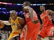 Kobe Bryant, James Harden, Lakers, Rockets