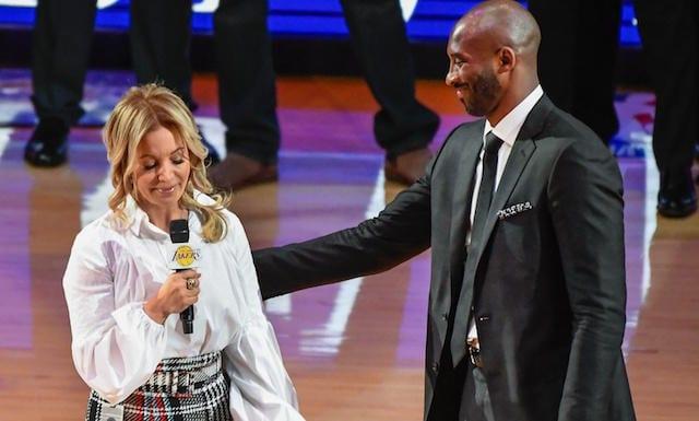 Kobe Bryant, Jeanie Buss, Lakers