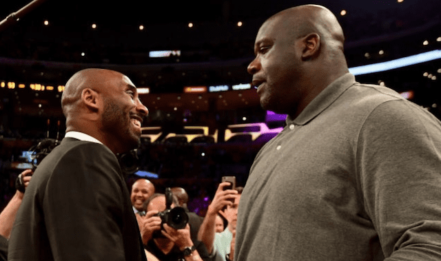 693f70d31565 Lakers News  Shaquille O Neal Jokes Kobe Bryant Will Come Out Of Retirement  To Play With LeBron James