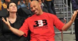 LaVar Ball, Tina Ball Lakers