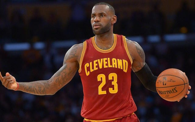 LeBron James, Lakers, Cavaliers