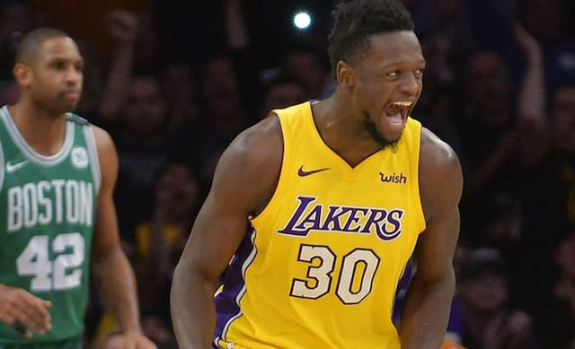 Warriors Vs Lakers 2018 >> Julius Randle Proclaims His Love For Lakers, Desire To Have Future With Team - Lakers Nation