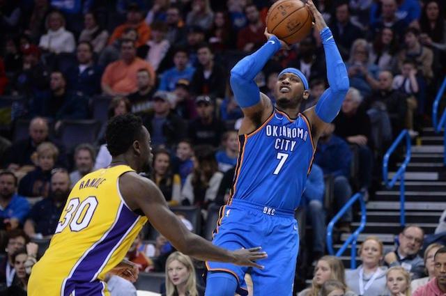 Julius Randle, Carmelo Anthony, Lakers