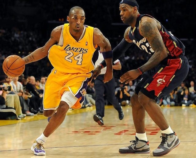 This Day In Lakers History: Kobe Bryant Debuts Nike Zoom ...