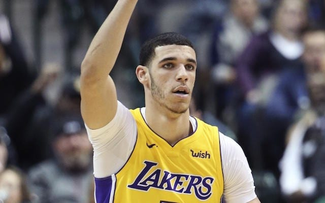 Lonzo Ball, Lakers Ranked Among Most Popular Merchandise ...