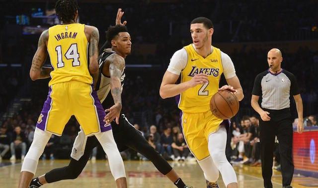 Lonzo Ball, Brandon Ingram, Lakers