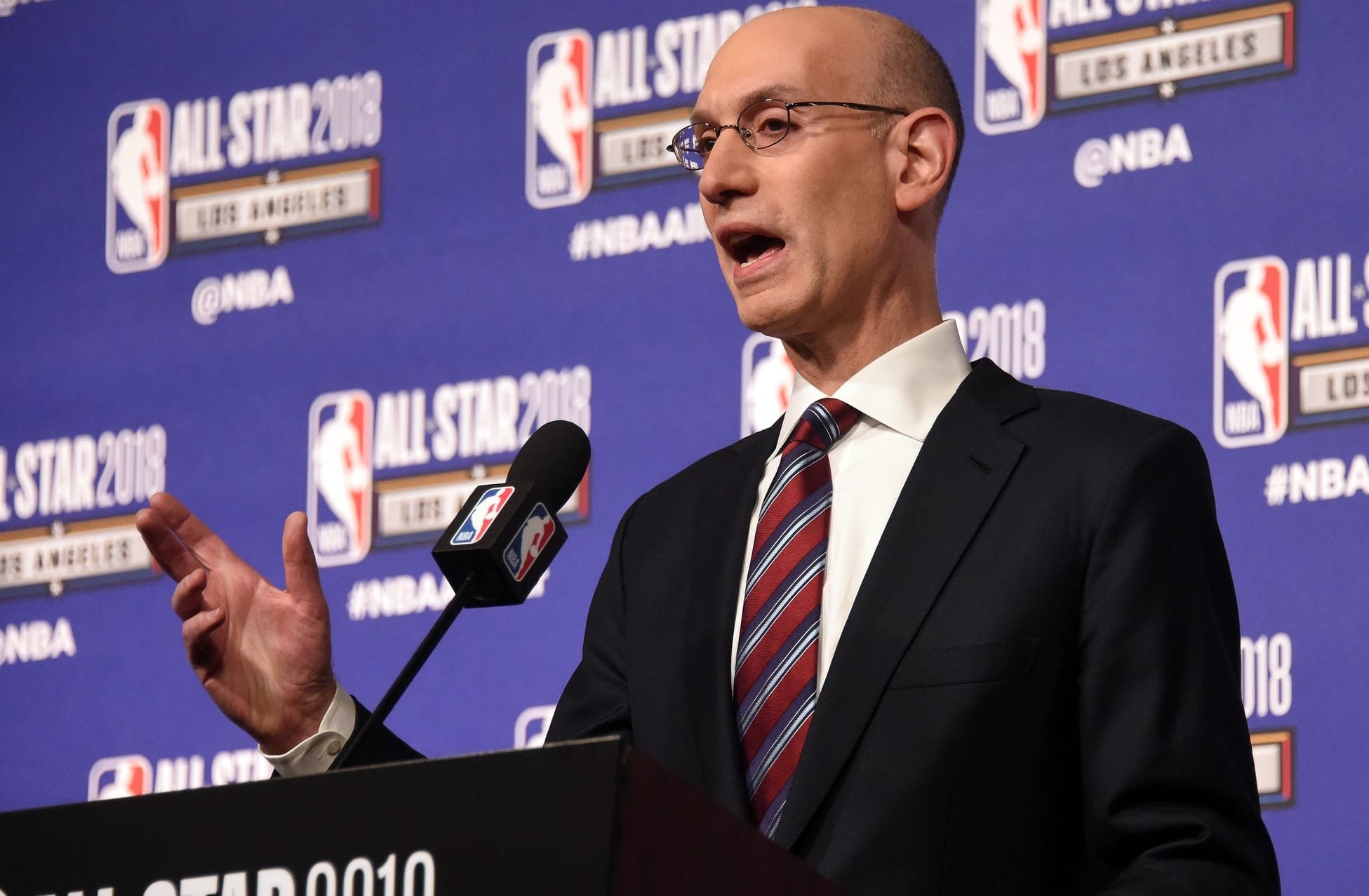 Adam Silver Says League Will 'Continue To Look At' Ways To Change NBA Playoff Format - Lakers Nation