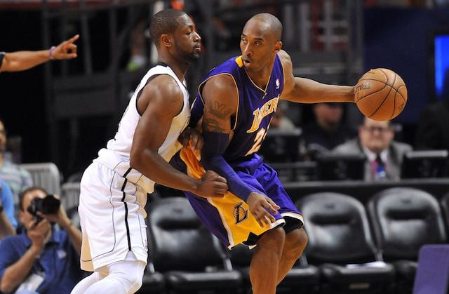 Kobe Bryant, Dwyane Wade, Lakers