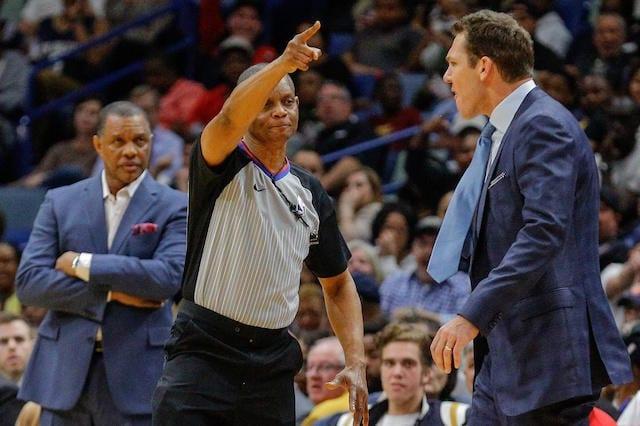 Luke Walton, referee, Lakers