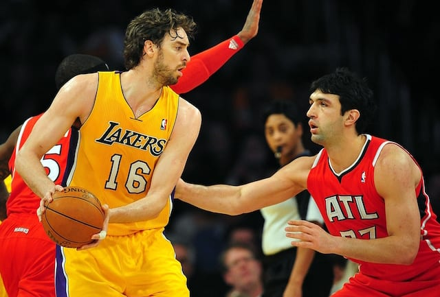 This Day In Lakers History: Pau Gasol Records Triple ...