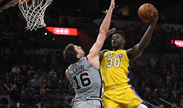 Julius Randle, Pau Gasol, Lakers, Spurs