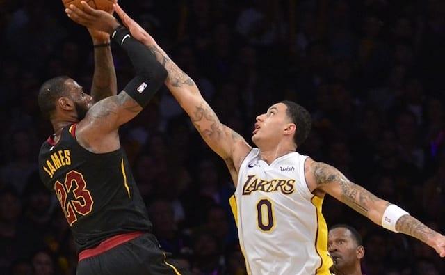 04d359ba Kyle Kuzma 'Had A Good Hunch' LeBron James Would Sign With Lakers