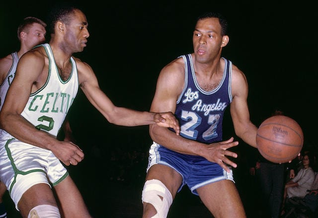 This Day In Lakers History: Elgin Baylor Sets NBA Finals Scoring Record In Win Over Celtics ...