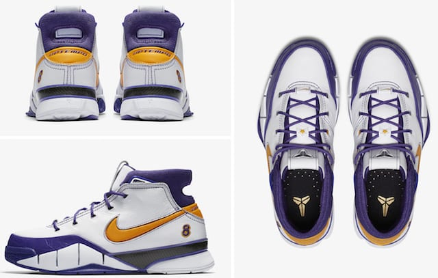 designer fashion 66448 94ff4 Nike Kobe 1 Protro  Final Seconds  Releasing April 14 To Begin  Art Of A  Champion  Pack