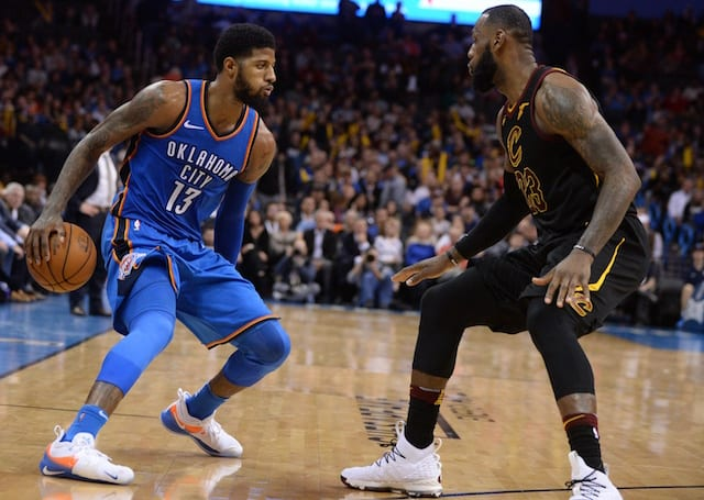 Cleveland Cavaliers Roster >> NBA Free Agent Rumors: 76ers Will Target LeBron James, Paul George And Kawhi Leonard