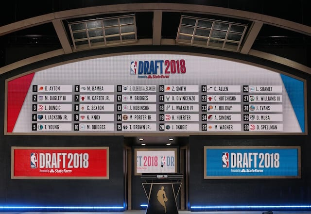 2019 NBA Draft Rumors: Lakers 'Aggressively Pursuing' Second Round...