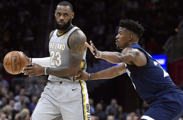 aa2b4a7627c Lakers Free Agency Rumors: Jimmy Butler Interested In Playing With LeBron  James