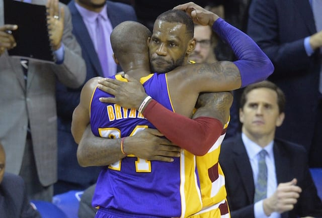 Current NBA Players Vote LeBron James Second, Kobe Bryant Third Greatest Players Of All...