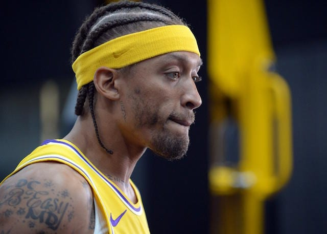 Michael Beasley Lakers News Family Matter Forces Leave