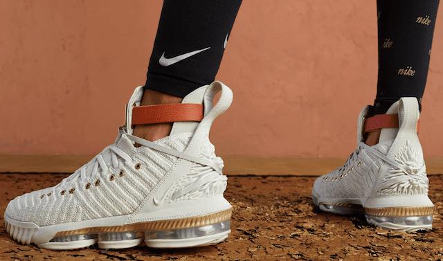 brand new c45b5 626d9 Women s Nike LeBron 16 x HFR Release Details