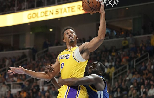 e58d1d2e317 Lakers Sign Johnathan Williams To Two-Way Contract, Waive Travis Wear