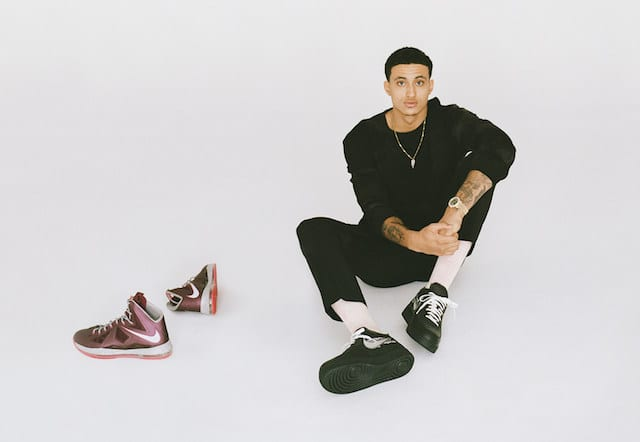 c43282f7de34f Lakers News  Kyle Kuzma Signs With GOAT Sneaker Marketplace As Brand s  First Ambassador