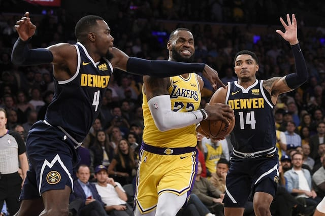 Kobe Bryant Called Watching LeBron James Play For Lakers At Staples Center   F---Ing Awesome  bd2e8acf1