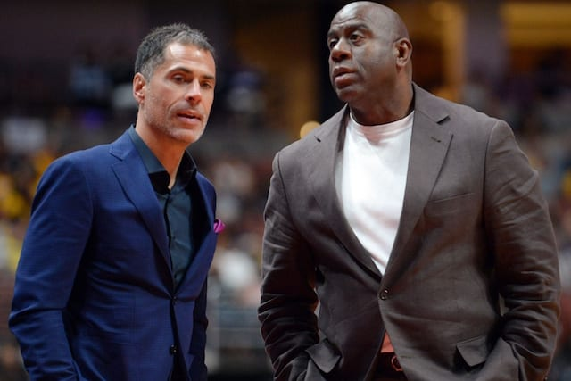 Lakers News: Magic Johnson Believes Rob Pelinka Should Have Come To Him With Any Alleged...