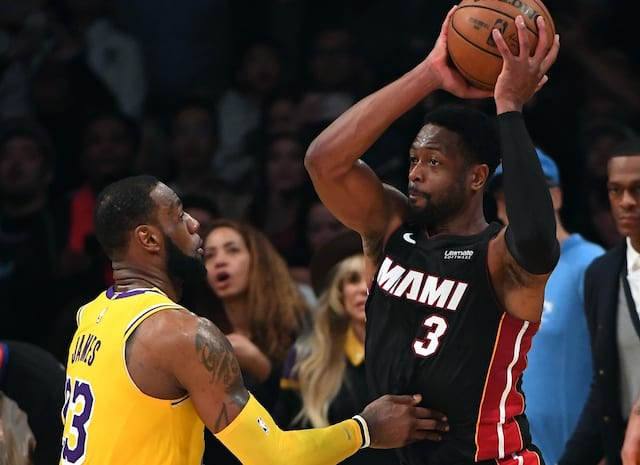 4b3399a0f4d Lakers News  Dwyane Wade  Demanded  To Defend LeBron James In Final Moments