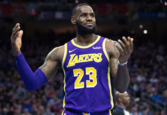 e1637a3a9 LeBron James Questions Whether Lakers Feel  Sense Of Urgency  Following  Loss To Pelicans