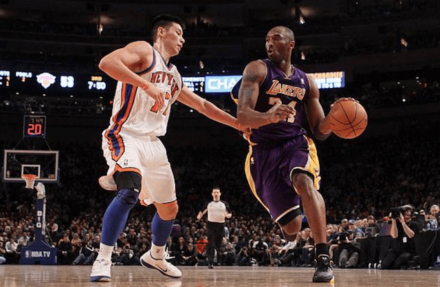 Jeremy Lin Calls Kobe Bryant Not Knowing Who He Was During Linsanity 'Hella...