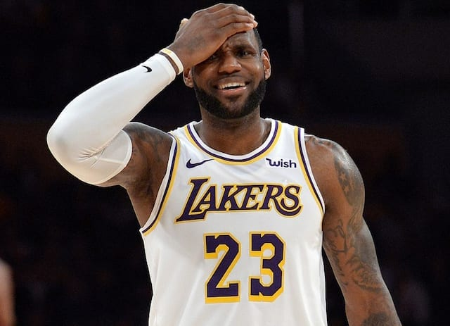 Lakers News: LeBron James Drops To No. 3 In Sports Illustrated's Top 100 NBA Players...